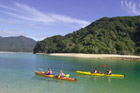Kayaking the Abel Tasman. Photo / Latitude Nelson