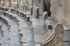 VIP seating at the fantastically preserved Bosra theatre in Syria. Photo / Jill Worrall