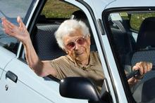 Ellen Noy, from Kaiapoi near Christchurch, is New Zealand's oldest licensed driver. Photo / Simon Baker