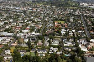 Property values in Auckland rose more than twice the national average, and QV says signs of confidence are returning to provincial markets. Photo / Herald on Sunday