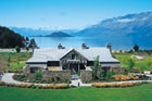 Blanket Bay Lodge in Glenorchy has been named one of the best accommodation properties in the world by Conde Nast Traveler. Photo / Supplied