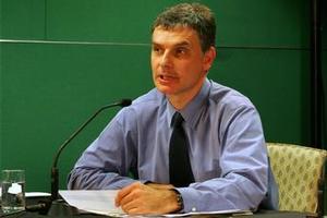Infratil chief executive Marko Bogoievski. Photo / Brett Phibbs.