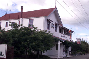 The Greytown Hotel was built in the 1880s and is one of the country's oldest hotel buildings. Photo / Wairarapa Times-Age