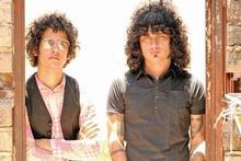 Omar Rodriguez-Lopez and Cedric Bixler-Zavala of The Mars Volta. Photo / Supplied