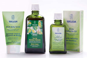 Weleda Birch Body Range kit. Photo / Supplied