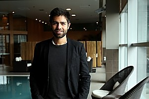 US actor-turned director Adrian Grenier was in Auckland promoting his film Teenage Paparazzo. Photo / Dean Purcell