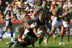 Michael Luck will hoping the Warriors can reverse their earlier loss to the Rabbitohs this season. Photo / Paul Estcourt
