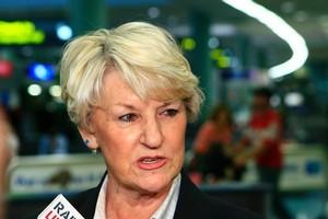 Australian coach Norma Plummer. Photo / Martin Sykes