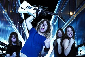 Airbourne are touring their new album No Guts. No Glory. Photo / Supplied