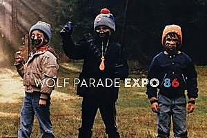 Wolf Parade's Expo 86 album cover. Photo / Supplied