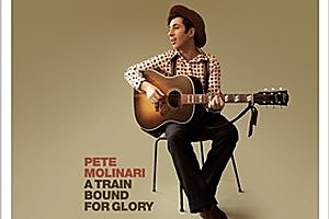 Pete Molinari's A Train Bound for Glory album cover. Photo / Supplied