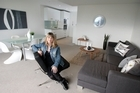 Anthea Baker-Shreeve's designs convert empty apartments into homes. Photo / Herald on Sunday