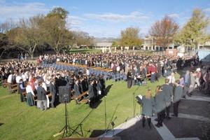 Middleton Grange school. Photo / Christchurch Star