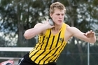 Shot putter Jacko Gill is one of Athletics NZ's big hopes for the future. Photo / Paul Estcourt