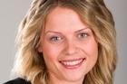 TVNZ's Joanna Hunkin. Photo / Martin Sykes