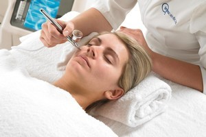 Oxygen facials, such as this one by Intraceuticals, work best with regular treatments. Photo / Supplied