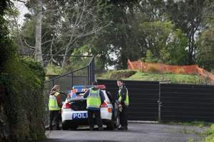 Police have searched in and around the Ngapuhi Rd home of Carmen Thomas. Photo / Greg Bowker
