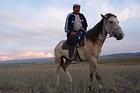 Some Kazakhs do own horses, but not everything else from the 'Borat' movie rings true. Photo / Rob Gray