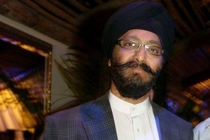 Kanwaljit Singh Bakshi updating history with the Military Manoeuvres Act Repeal Bill. Photo / Herald on Sunday