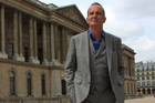 British TV presenter Kevin McCloud in TV series 'Grand Tour'. Photo / Supplied