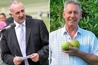 National's Northland and West Coast MPs John Carter, left, and Chris Auchinvole. Photos / Northern Advocate, Supplied