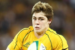James O'Connor is likely to be fielding much of the Wallabies' kicking. Photo / Getty Images