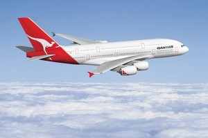 Qantas is introducing a new fast check-in system for 100,000 of its premium frequent flyers when they travel within Australia. Photo / Supplied