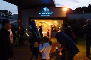 Stardome Observatory has teamed up with the Child Cancer Foundation for Stars of Courage. Photo / Supplied