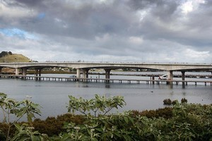 Eighty-thousand motorists a day are expected to use the new bridge. Photo / Sarah Ivey