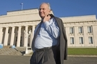 Auckland Museum's interim director Sir Don McKinnon. Photo / Paul Estcourt