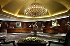 Your first step to leaving the world behind starts in the Langham Hotel's opulent foyer. Photo / Supplied
