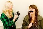 Design team Olivia Harper and Toni Brandso from Material Creative. Photo / Babiche Martens