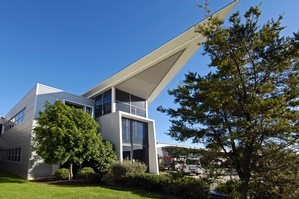 Real Foods' purpose-built complex on Aintree Ave produces annual rental income of $611,000. Photo / Supplied