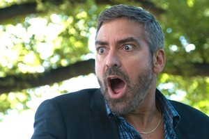 Probably quite shocked - George Clooney. Photo / Supplied