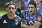 Kevin Locke, left, and Jerome Ropati. Photos / Greg Bowker, Getty Images