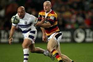 Halfback Brendon Leonard featured prominently in Waikato's win last night. Photo / Getty Images