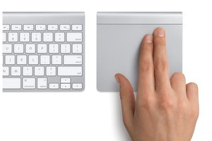 Apple's Magic Trackpad has made the jump from laptop to desktop. Photo / Supplied
