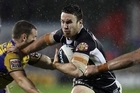 The Warriors have an option on James Maloney for 2012. Photo / Getty Images