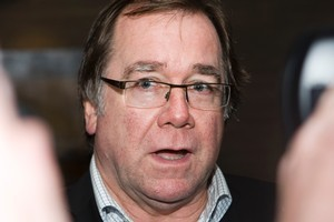 Rugby World Cup Minister Murray McCully. Photo / Paul Estcourt