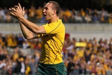 The Wallabies will miss suspended Quade Cooper. Photo / Getty Images