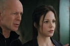 Loosely based on a comic book, stars Bruce Willis and Helen Mirren.