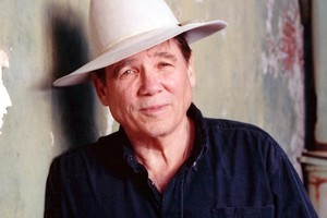 American crime writer James Lee Burke. Photo / Supplied