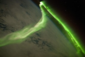The NZ sky could be lit up by the Aurora Australis, or Southern Lights after Nasa detected a solar blast heading towards earth. Photo / NASA