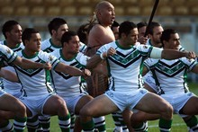 New Zealand Maori league team perform the haka in 2008. Photo / Getty Images