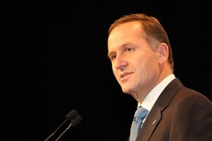 John Key. File photo / Greg Bowker