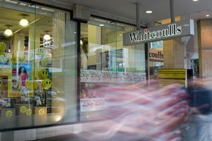Whitcoulls Store on Queen Street. Photo / Paul Estcourt.