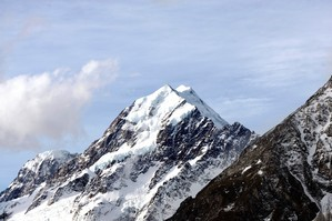 Sir Edmund Hillary first climbed the South Ridge of Aoraki-Mt Cook in 1948. Photo / APN
