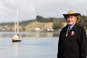 Jack Cunningham sees repeal of the Foreshore and Seabed Act as unifying for the people of Kawhia. Photo / Christine Cornege