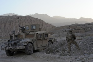 New Zealand Defence personnel in the Bamiyan province. Photo / NZDF