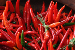 A Chinese study has found that the long-term ingestion of capsaicin, the ingredient in chillies that makes them taste hot, can reduce blood pressure - at least in rats. File photo / Hawke's Bay Today